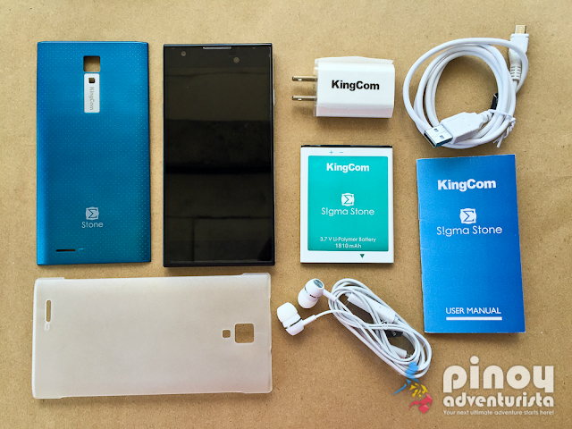 KingCom Sigma Stone Smartphone Review