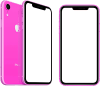 apple iphone XR  png transparent images