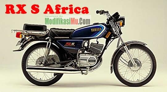 Sepeda Motor Yamaha RX S Versi Afrika jok Dobel Tahun 1983 - Spesifikasi Harga dan Perbedaan Yamaha RX S dengan RX Spesial