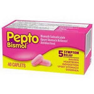 Viên Pepto Bismol Hỗ Trợ Tiêu Hóa Đại Tràng Dạ Dày Hàng Xách Tay Mỹ