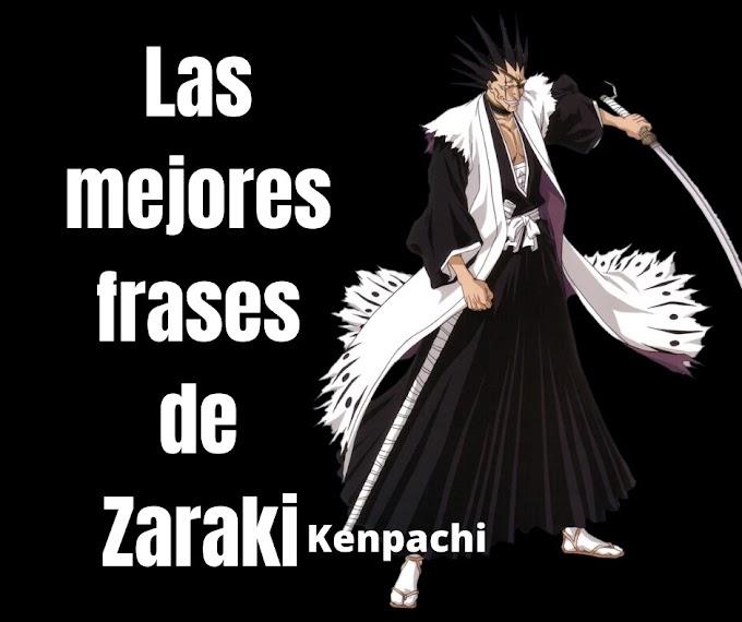 Las mejores Frases De Zaraki Kenpachi, Bleach