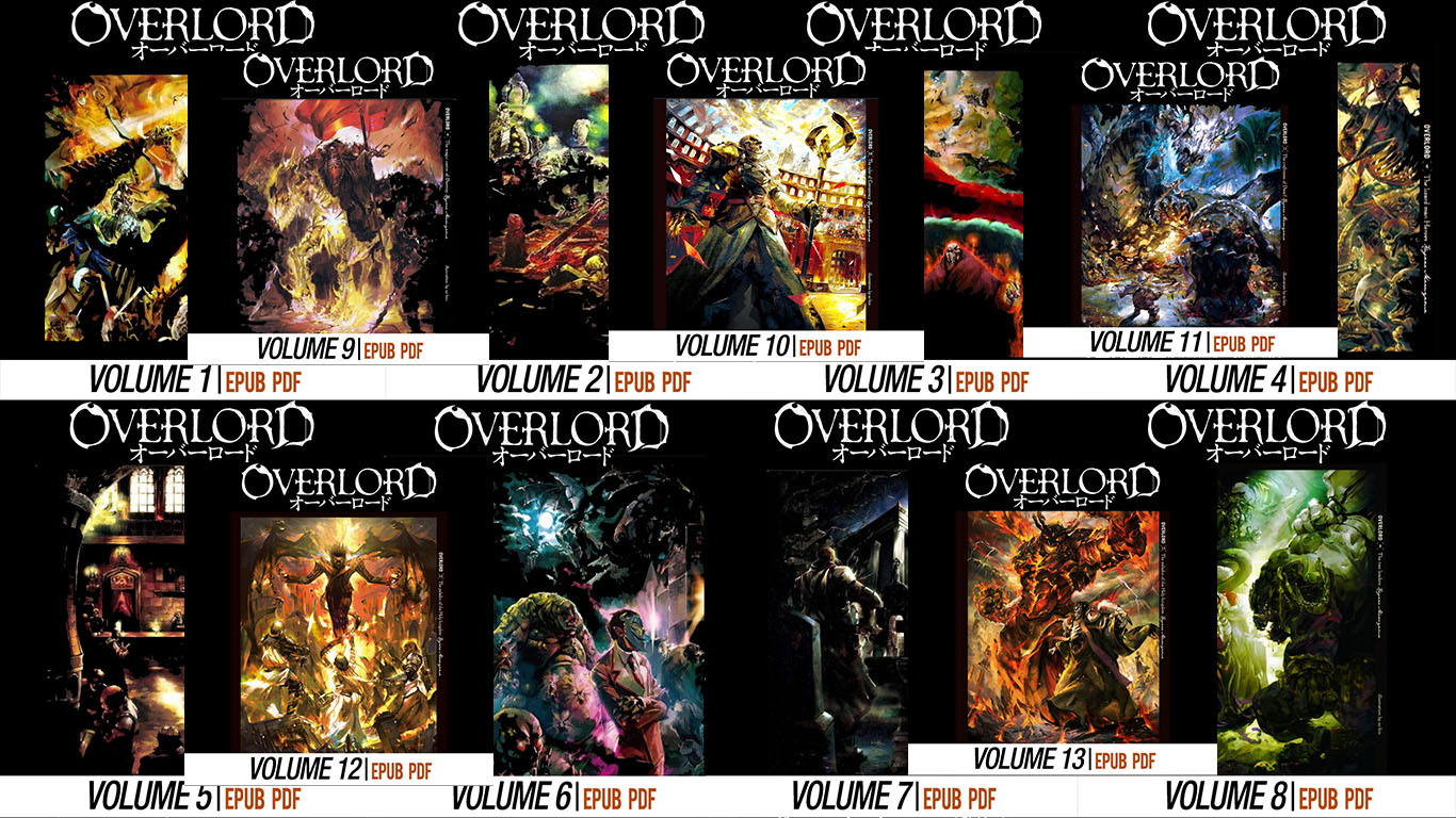 Overlord Light Novel Indonesia Vol 1 - 13 PDF EPUB Download