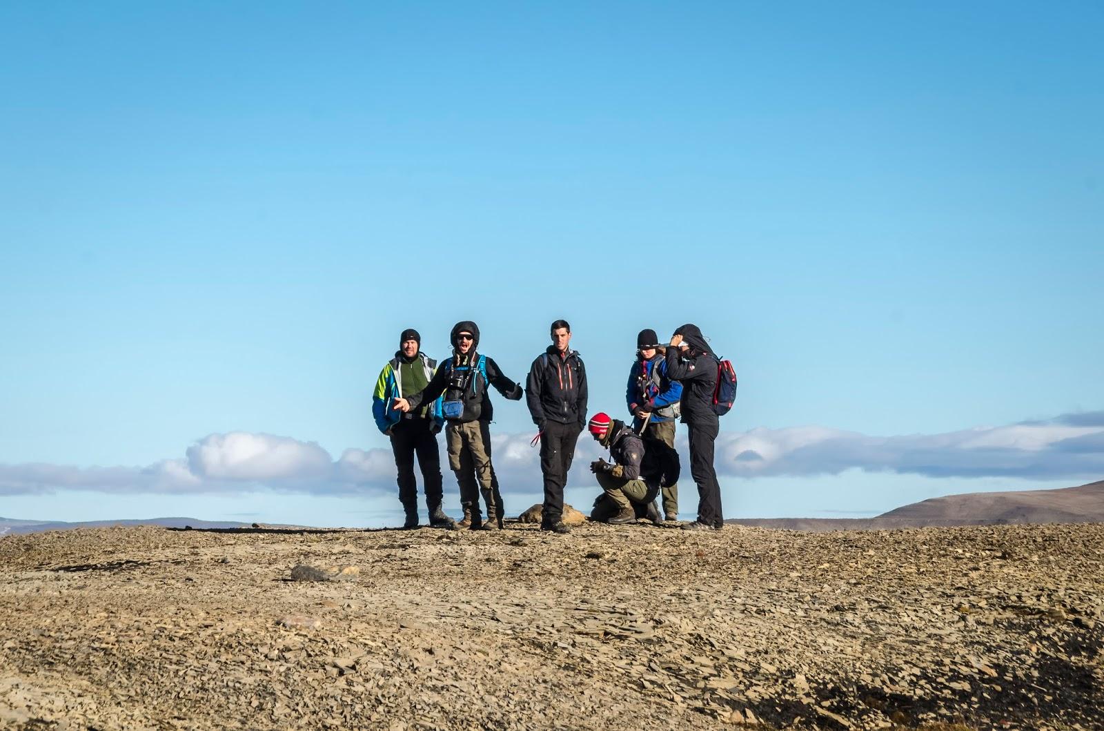 svalbard spitzberg randonnée