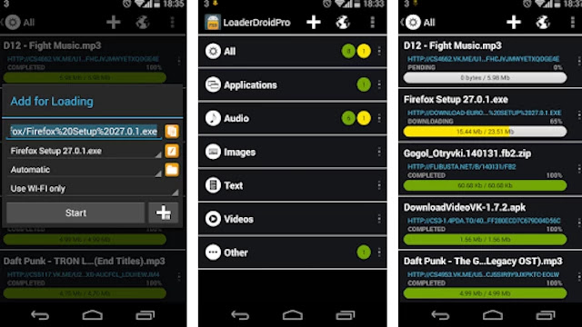 loader-droid-download-manager-for-android