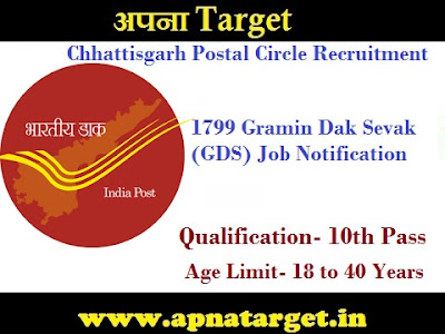 CG Postal Circle Recruitment
