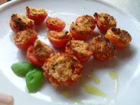 pomodori al forno gratinati vegan