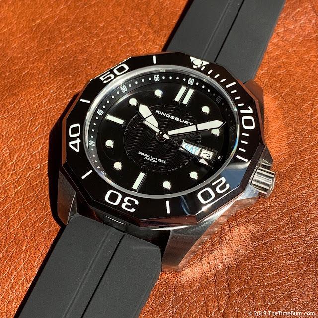 Kingsbury Dark Water 300 black