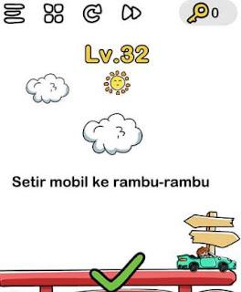 Brain Out Setir Mobil Ke Rambu Rambu