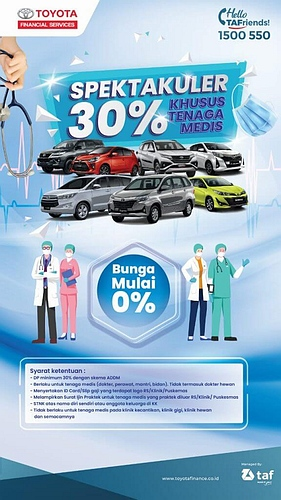 Promo Toyota BSD Tangerang Kredit Tanpa Bunga Atau Bunga 0%