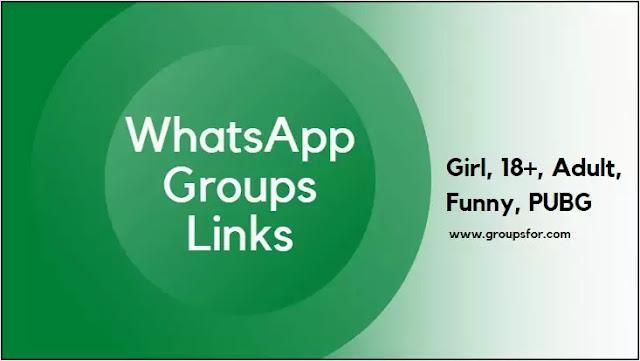 Whatsapp Groups Link 2020