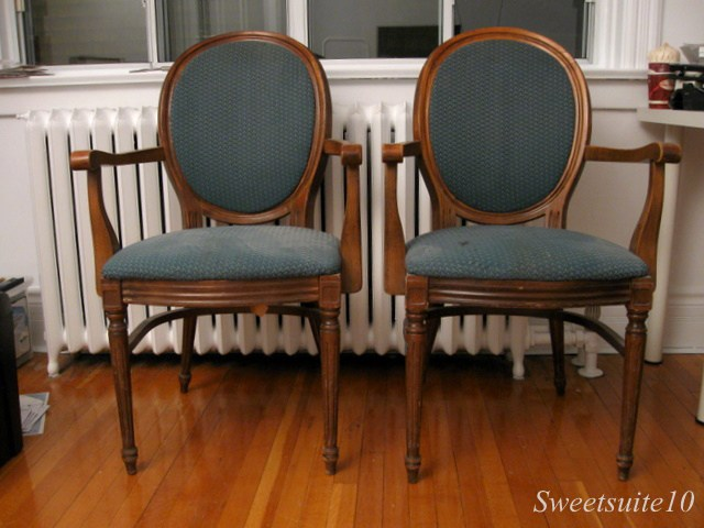 My new Louis XV Style chairs