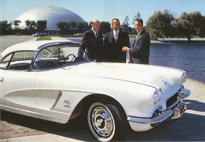 """1962 Corvette White """"Alan Shaperd"""""""