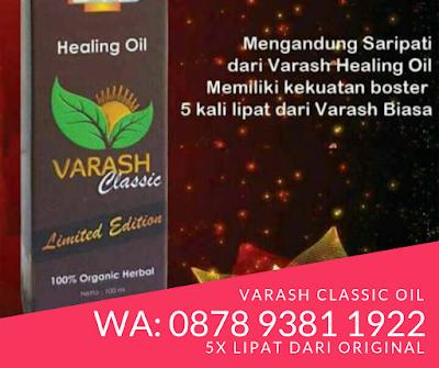 Perbedaan minyak Varash Classic dengan Biasa
