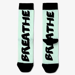 Breathe Socks Baby Blue