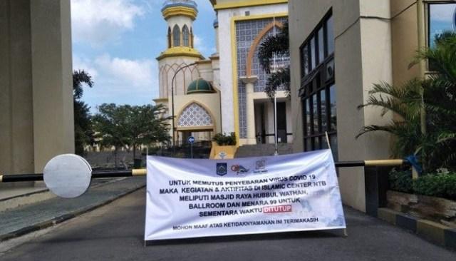Orang Dilarang ke Masjid tapi Boleh ke Mall Itu Diskriminatif