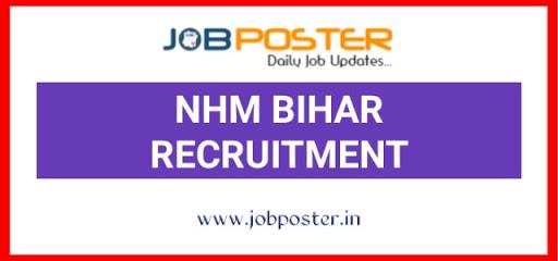 NHM Bihar Recruitment 2020 Jobs