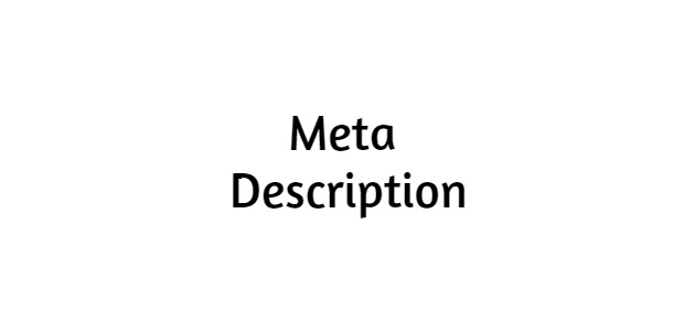 Know About Meta Description | On-page SEO