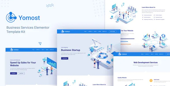 Best Business Services Elementor Template Kit