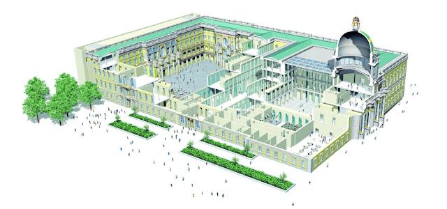 Humboldt Forum Berlim - planta