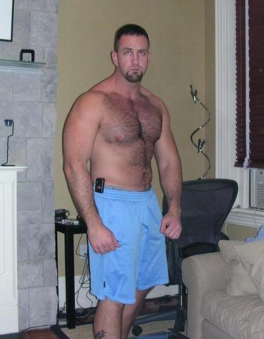 big hairy daddy bear men