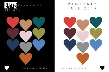 Eva Maria Keiser Designs Explore Color Pantone Fall