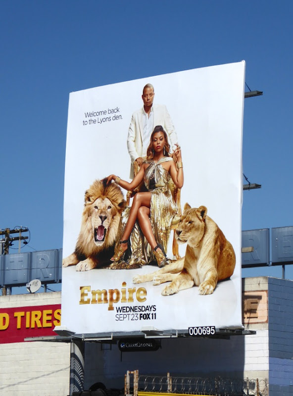 Empire season 2 Lyons Den billboard