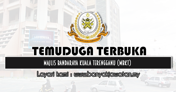 Temuduga Terbuka 2020 di Majlis Bandaraya Kuala Terengganu (MBKT)