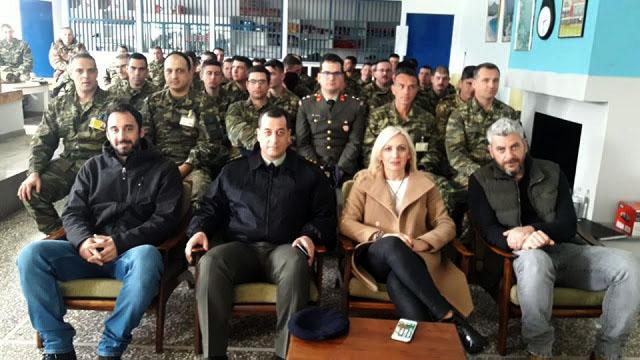 Θεσπρωτία: Οι στρατιώτες του Τάγματος Φιλιατών ενημερώθηκαν για τα ναρκωτικά