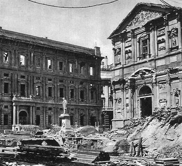 WWII milano guerra bombardamenti