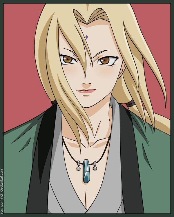 7 Cartoon Characters 5th Hokage Tsunade In Naruto Movie ...