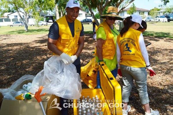 The Volunteers Brighten Inala, Brisbane