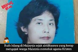 Ruth Sitepu Hilang Di Negeri Jiran Malaysia