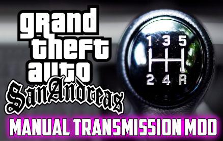 Manual Transmission For Car Mod For GTA San