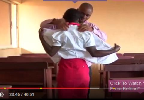 VIDEO: SECONDARY SCHOOL TEACHER CAUGHT HAVING SEX WITH A