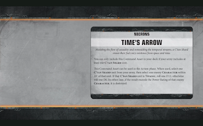 Time's Arrow Warhammer 40,000 Apocalypse-