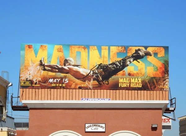 Mad Max Fury Road Madness billboard