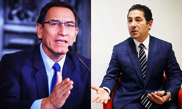 Presidente Martín Vizcarra pidió renuncia a Ministro Salvador Heresi
