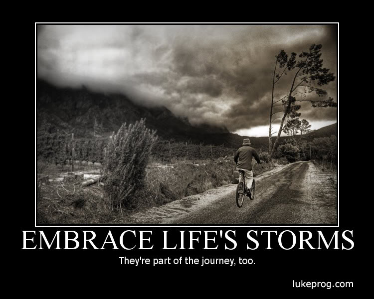 RosieSandz: My Life Lessons...: Storms Don't Last Forever