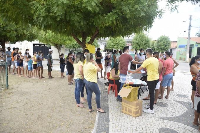 'Dia D' da Campanha Julho Amarelo é realizado no grande bairro Campo de Aviação