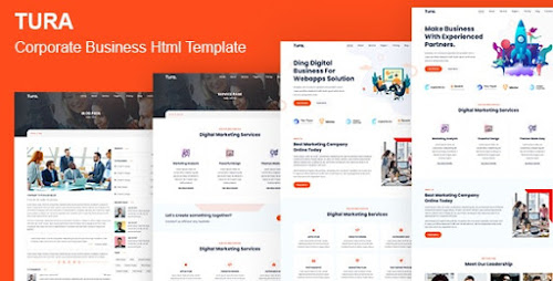 Tura - Corporate Business HTML Template