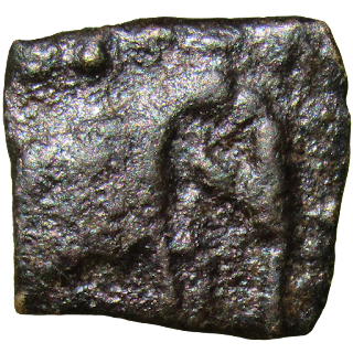 [SPY002] Sangam age Pandyan square copper Coin