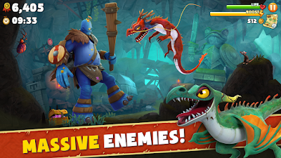 Download Hungry Dragon™ MOD APK v1.0 for Android HACK Unlimited Money Terbaru 2017