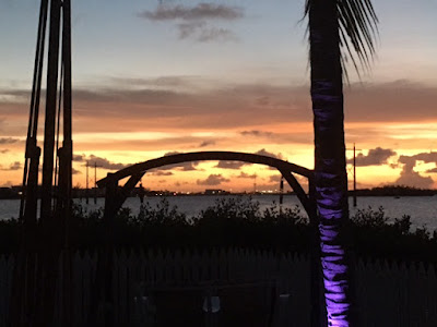 Parrot Key Resort in Key West at sunset