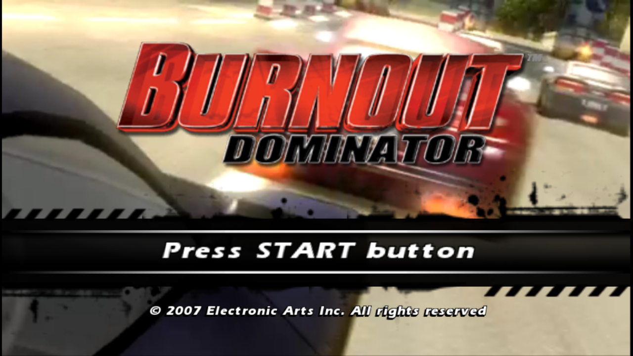 Best PPSSPP Setting Of Burnout Dominator Blue or Gold