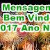 2000 Mensagens Bem Vindo 2017 Ano Novo Domingo 01/01/2017