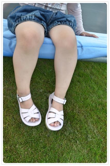 sandaalit, salt-water, täydellinen kesäkenkä