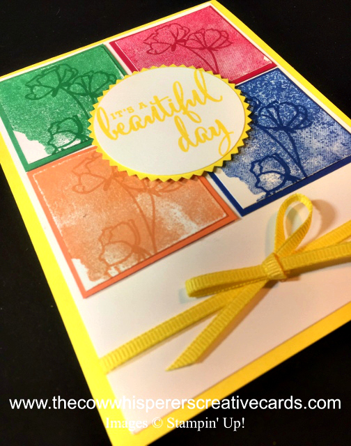 Card, Clean & Simple, Love What You Do, In Colors