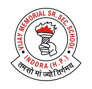 VIJAY MEMORIAL SR. SEC. SCHOOL   Logo Design - Vecta Design