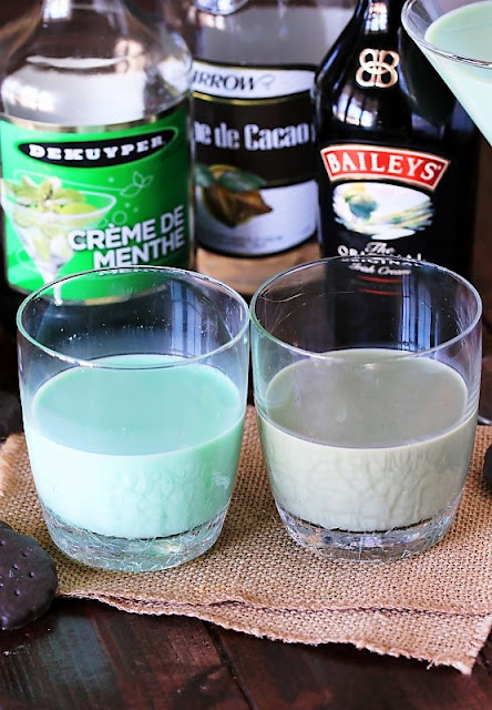 Thin Mint Cocktail with creme de cacao image