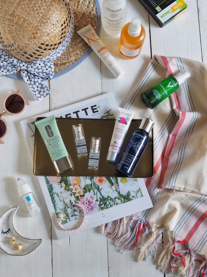 Test et avis de produits de beauté, maquillage et protection solaire pour l'été